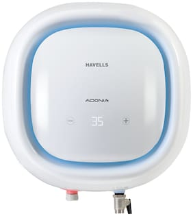 Havells Adonia Digital 5 Star 15 L Storage Water Heater (White)