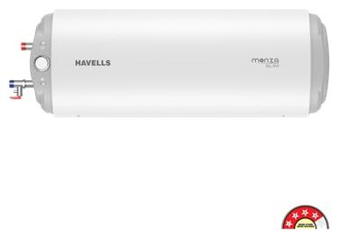 HAVELLS MONZA SLIM 4S25 LTR SM HL FM FP WHITE-Storage watre heater