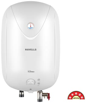 HAVELLS PURO TURBO 25 LTR SP FP WHITE-Storage water heater