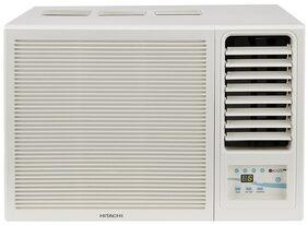 Hitachi 1 Ton 3 Star Window AC (RAW312KWD, White) with Copper Condenser