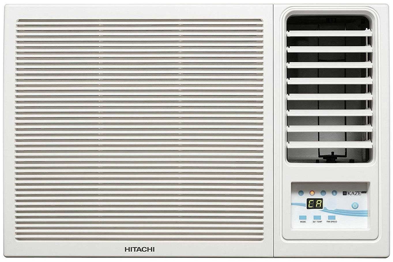 Hitachi 1.5 Ton 5 Star Window AC  RAW518KUDZ1, White  by Premium E Retailer