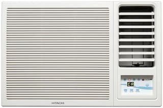 Hitachi 1.5 Ton 3 Star Window AC (RAW318KUD, White) with Copper Condenser
