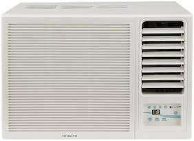 Hitachi 1 Ton 3 Star Window AC (RAW312KWD, White)