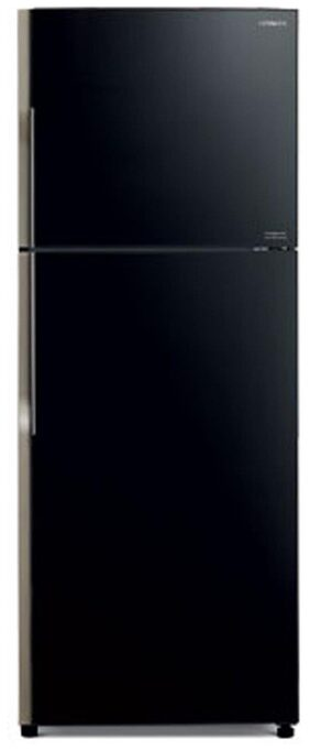 Hitachi Frost Free 415 L Double Door Refrigerator (R-VG440PND3- (GBK), Glass Black)