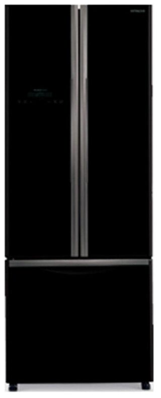 Hitachi Frost Free 456 L Triple Door Refrigerator (R-WB480PND2-(GBK), Glass Black)