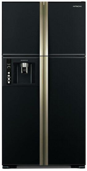 Hitachi Frost Free 586 L Side By Side Refrigerator (R-W660PND3 - (GBK), Glass Grey)