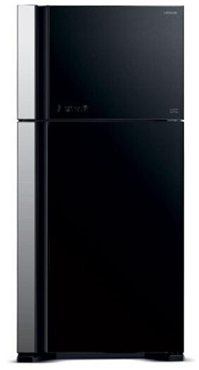 Hitachi Frost Free 601 L Double Door Refrigerator (R-VG660PND3 (GGR), Glass Grey)