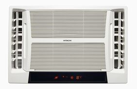 Hitachi 1.5 Ton 5 Star Window AC (RAT518HUD, White)