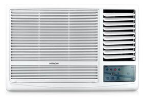 Hitachi 2 Ton 2 Star Window AC (RAW222KVD, White) with Copper Condenser