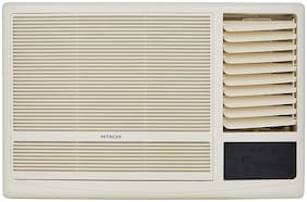 Hitachi 1.5 Ton 3 Star Window AC (RAW318KUD, White) with Copper Condenser
