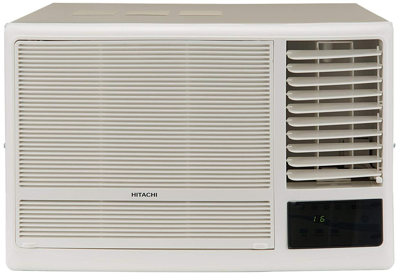 Hitachi 1.5 Ton 5 Star Window AC  RAW518KUD/DZ1, White  with Copper Condenser