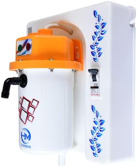 HM YELLOW-MCB 1 L Electric Instant Geyser