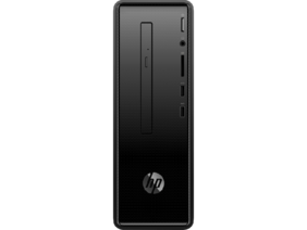 HP Slimline 290 (Intel Pentium J5005 / 4 GB / 1 TB HDD / HP USB Wired Black Keyboard Mouse / DVD-Writer / DOS) 290-a0009il , Tower Desktop (Black)