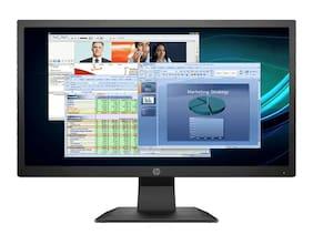HP P204v 49.53 cm (19.5 inch) HD Plus LED Monitor HDMI & VGA Connectivity Standard