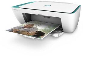 HP DeskJet 2675 Multi-Function Inkjet Printer (White)