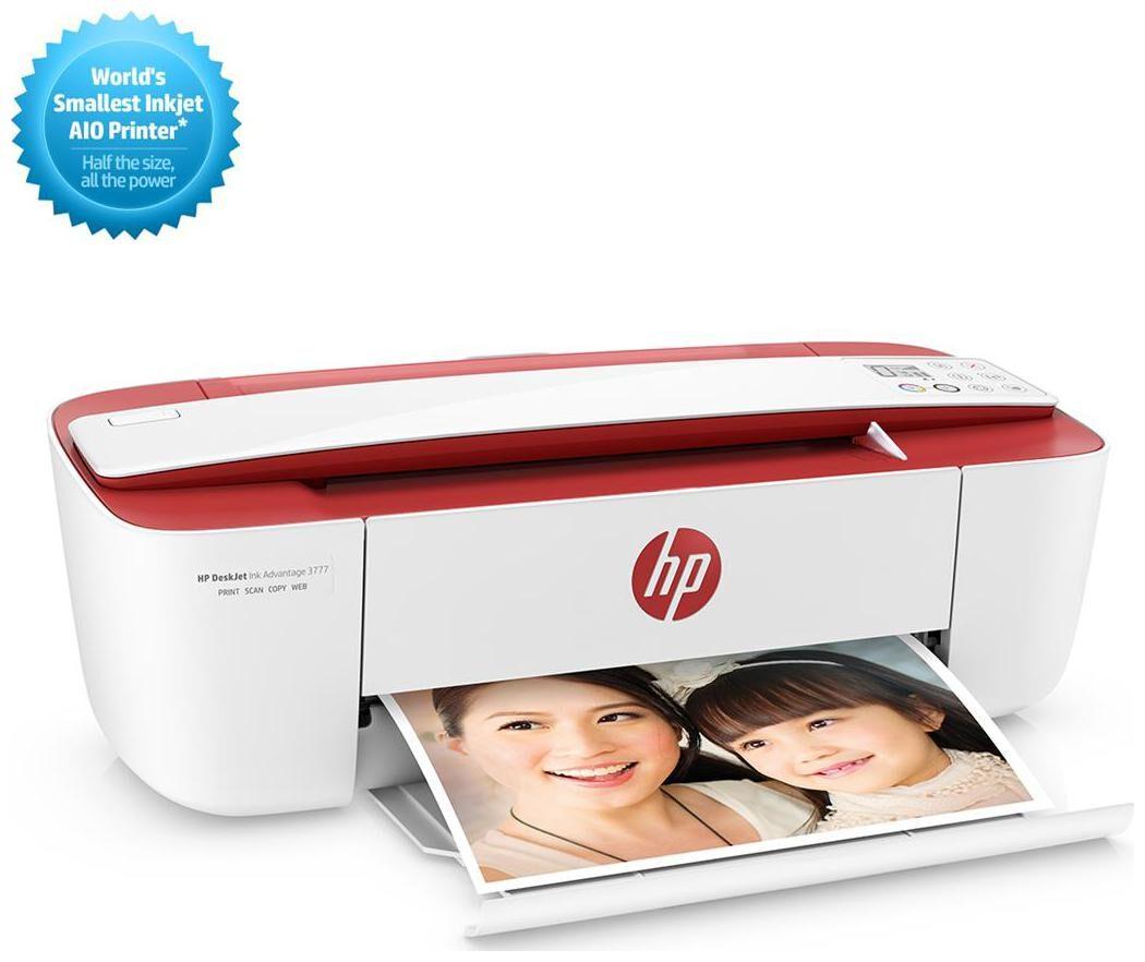 HP Deskjet ink advantage 3777 Multi function Inkjet Printer