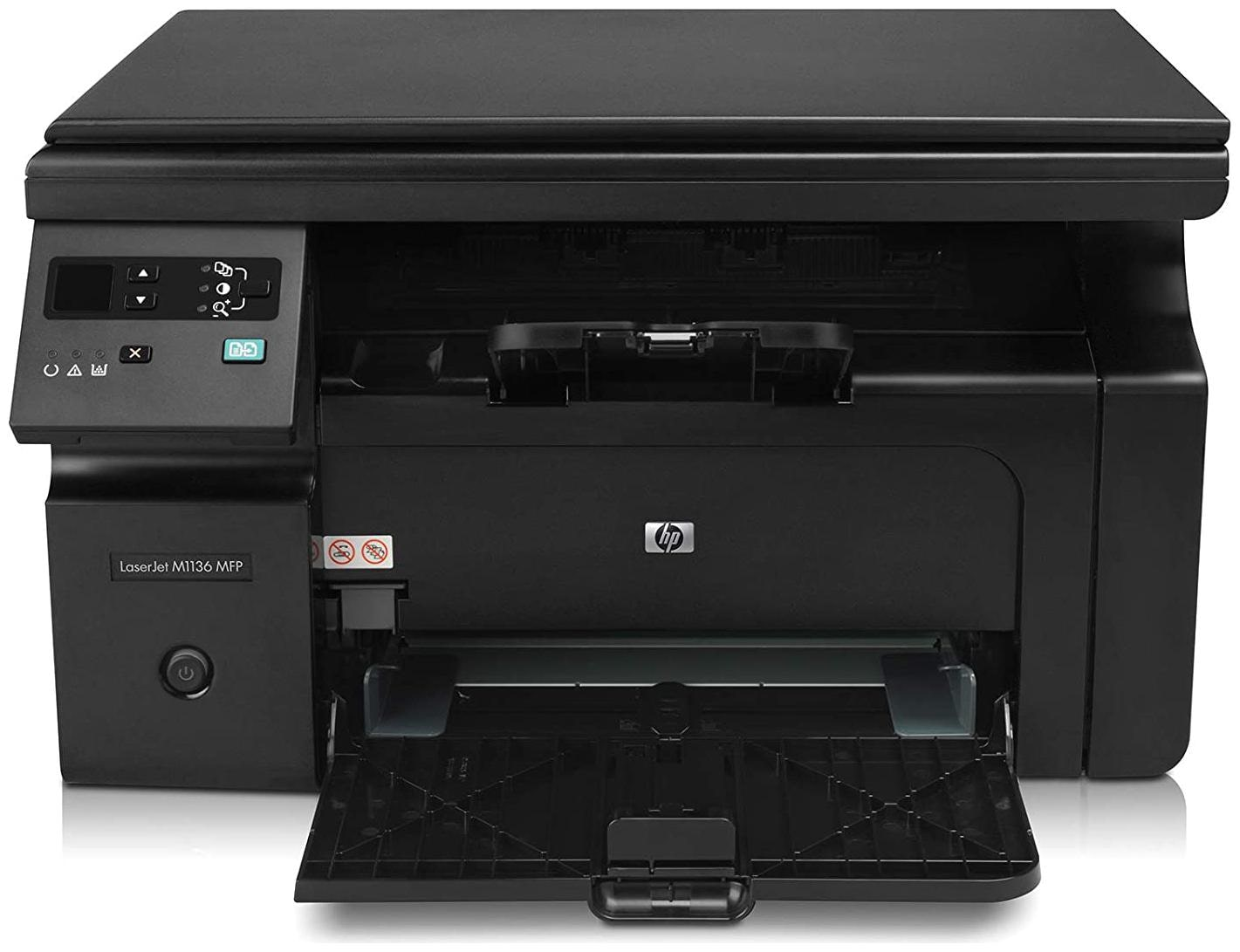 HP M1136 Multi Function Laser Printer by Computronics Multi