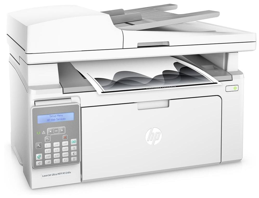 HP M134fn (G3Q67A) Multi-Function Laser Printer