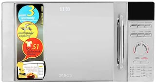 IFB 20 ltr Convection Microwave Oven - 20SC3 , Silver