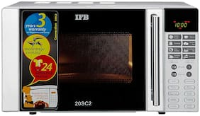 IFB 20 L Convection Microwave Oven (20SC2, Silver)