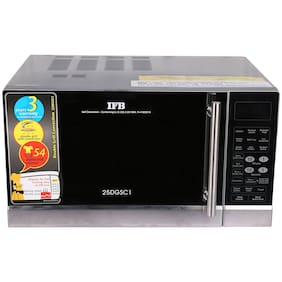 IFB 25 ltr Convection Microwave Oven - 25DGSC1 , Silver