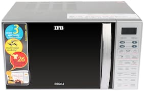 IFB 25 ltr Convection Microwave Oven - 25SC4 , Black & silver