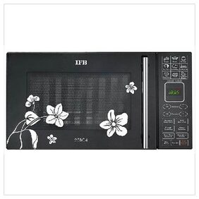 IFB 25 L Convection Microwave Oven (25BC4, Silver & Black)