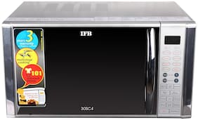IFB 30 L Convection Microwave Oven (30SC4, Silver)
