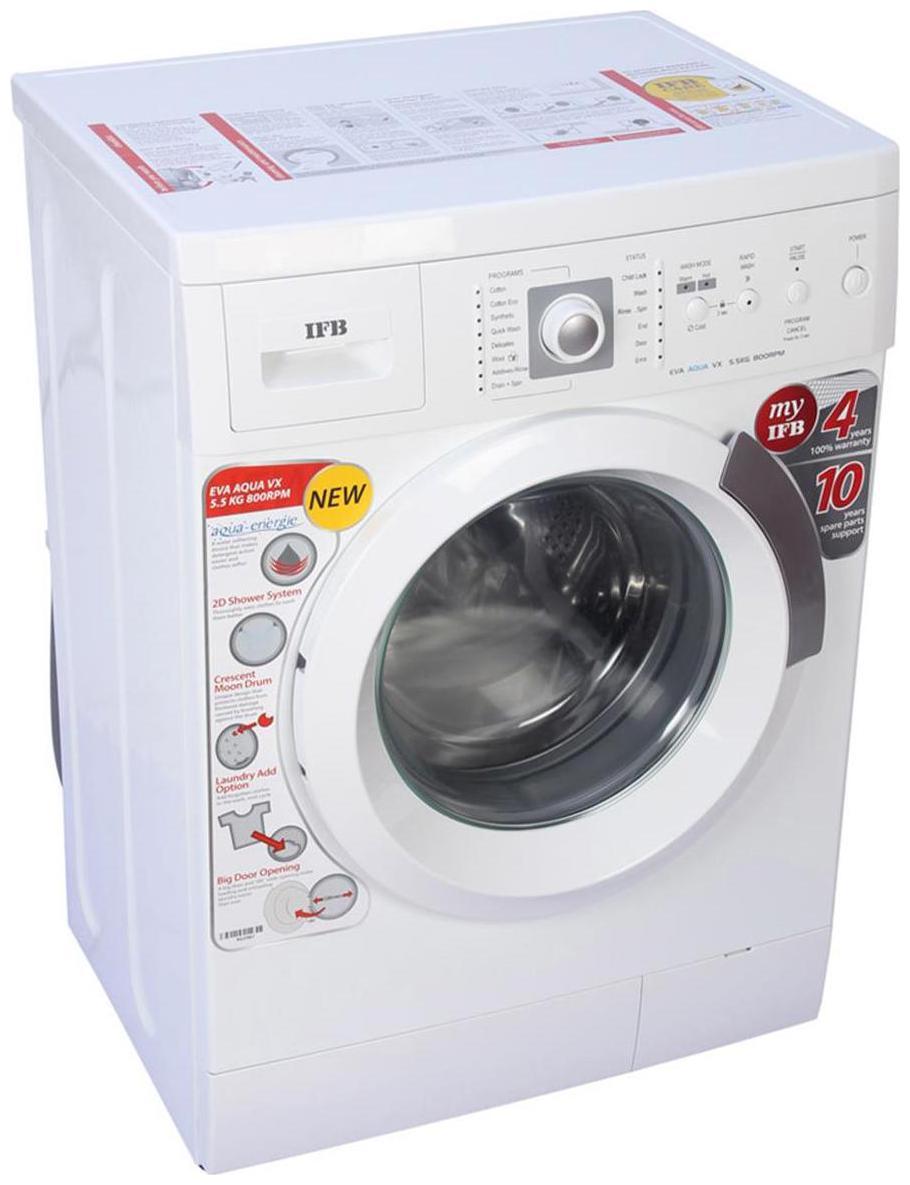 IFB 6 kg Fully Automatic Front Load Washing machine   EVA AQUA VX LDT , White