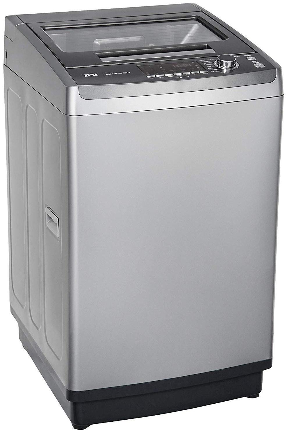 IFB 7 kg Fully Automatic Top Load Washing machine   TL 70SGDG , Grey by Bajaj Electronics