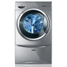 IFB 8 kg Fully Automatic Front Load Washing Machine (Senator Smart Touch, Silver)