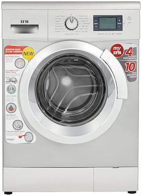 IFB 8 Kg Fully automatic front load Washing machine - SENATOR AQUA SX , Silver