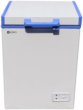 Koryo Direct Cool 100 L Single Door Refrigerator (KCH100BG, White)