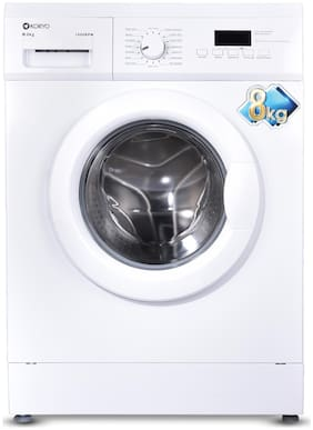 Koryo 8 Kg Fully Automatic Front Load Washing Machine (KWM1480FL, White)