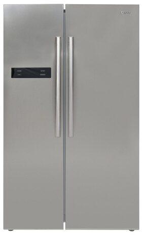 Koryo 584 L Side By Side Refrigerator (KSBS605INV, Silver)