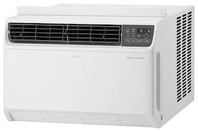 LG 1.5 Ton 3 star bee rating Inverter Window ac ( Copper Coil , JW-Q18WUXA , White )