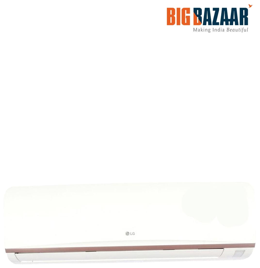 LG 1 Ton 3 Star (2017) Split AC (LSA3SU3A White)