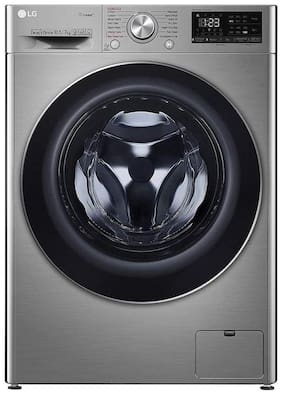 LG 10.5 kg Fully Automatic Front Load Washer with dryer - FHD1057SWS , Silver