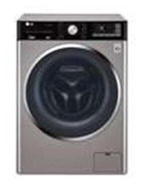 LG 10.5 kg Fully Automatic Front Load Washing Machine (F4J9JHP2T, Stainless Silver)