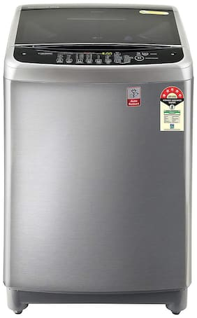 LG 10 kg Fully automatic top load Washing machine - T10SJSS1Z , Silver