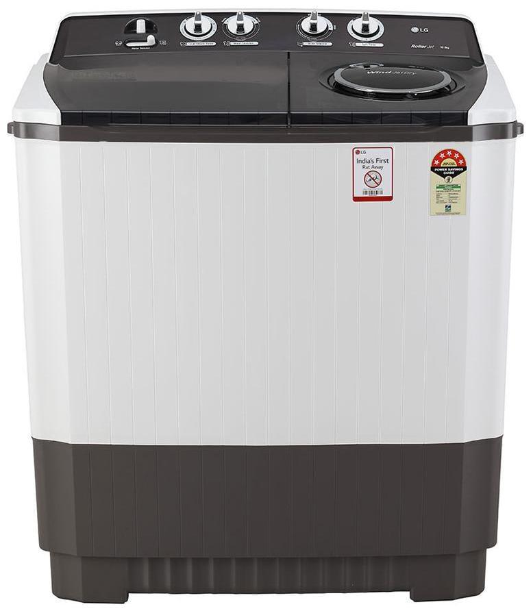 LG 10 Kg Semi Automatic Top Load Washing Machine (P1045SGAZ, Dark Grey)
