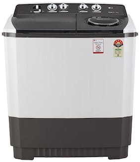 LG 10 kg Semi Automatic Top Load Washing machine - P1045SGAZ , Dark grey