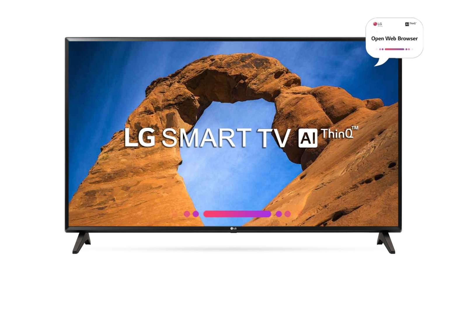 LG 43 Inches Full HD LED Smart TV (43LK5760PTA, Black)