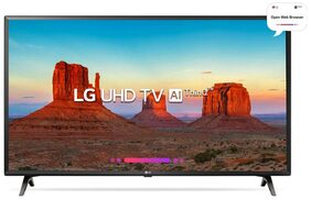 LG 108cm (43) 43UK6360PTE Ultra HD LED Smart TV