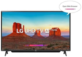 LG Smart 109.22 cm (43 inch) 4K (Ultra HD) LED TV - 43UK6780PTE