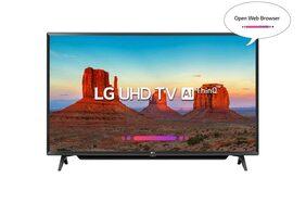 LG 109.3 cm (43 inches) 43UK6780PTE 4K LED Smart TV (Black)