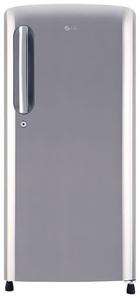 LG 118 L 5 star Direct cool Refrigerator - GL-B201APZY , Shiny steel