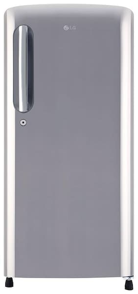 LG 118 L 4 star Direct cool Refrigerator - GL-B201APZY , Shiny steel