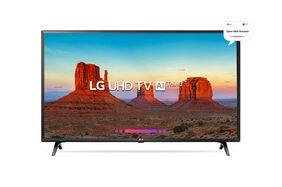 LG 125cm (49 Inch) 49UK6360PTE UHD Smart TV Al ThinQ