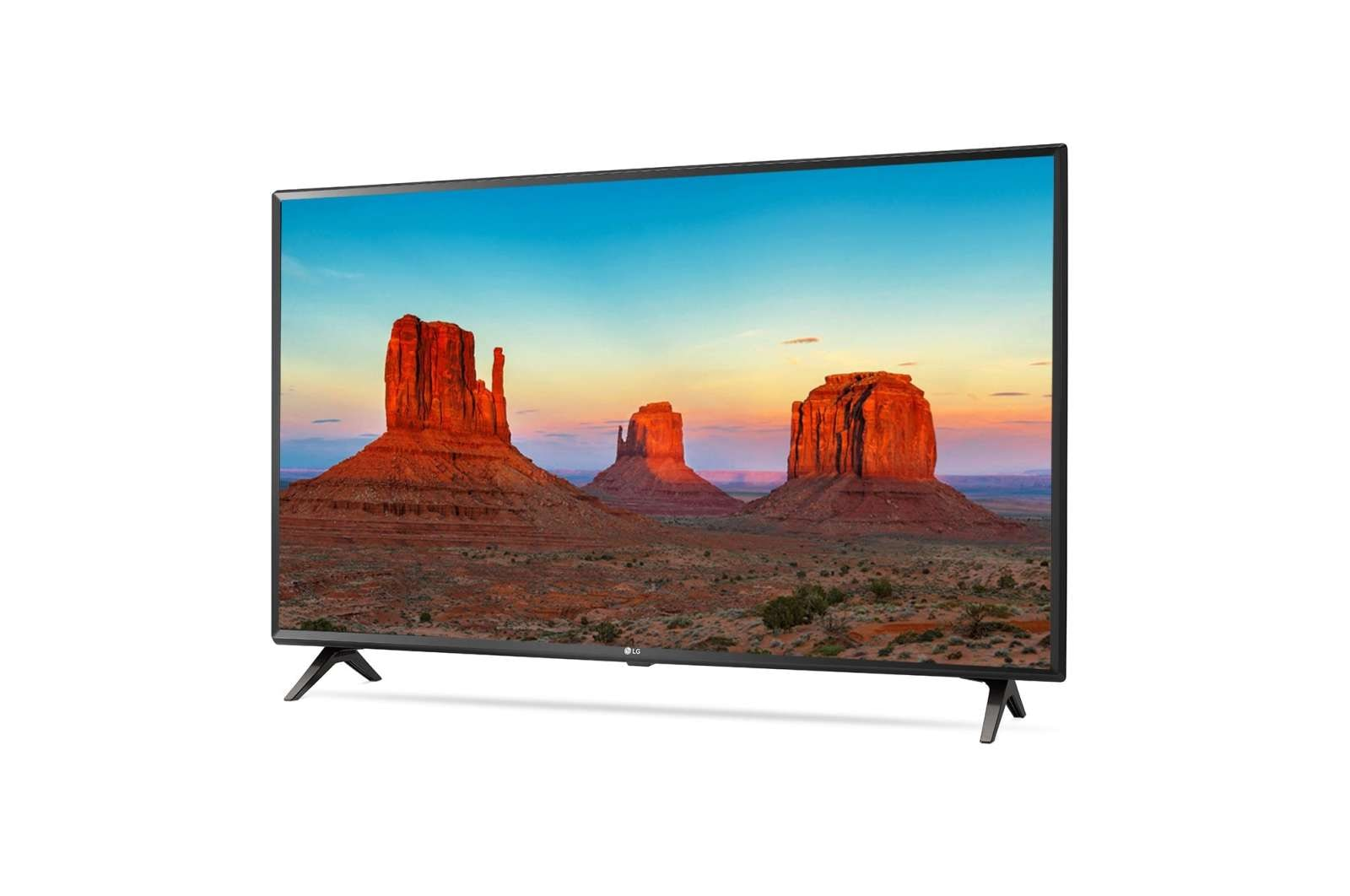LG 49 Inches Ultra HD LED Smart TV (49UK6360PTE, Black)
